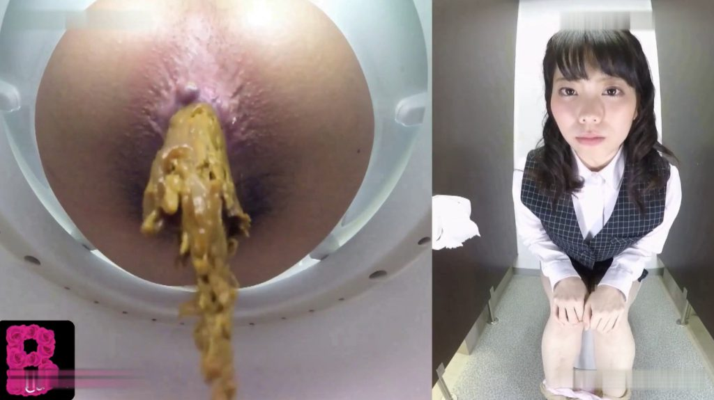 BFBY-03 Beayty schoolgirls pooping in toilet room - 4