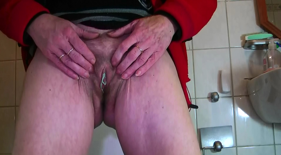 For www.shitting.pro exclusive video - Mature Menstruation - 1