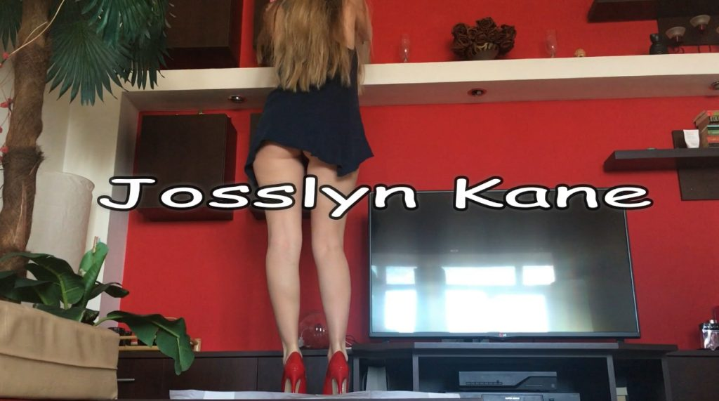 Housewife Josslyn Kane defecation when cleaning the room - 1