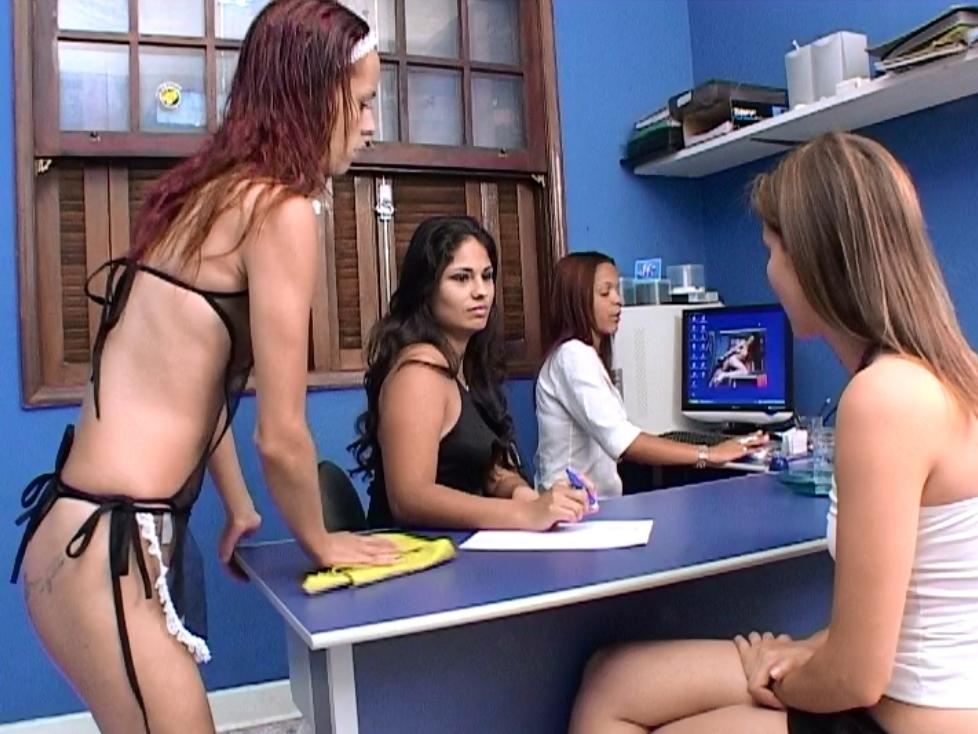 Scat Secretary Girls Jaquline,Roxana,Samantha,Ines - SG-Video - 2