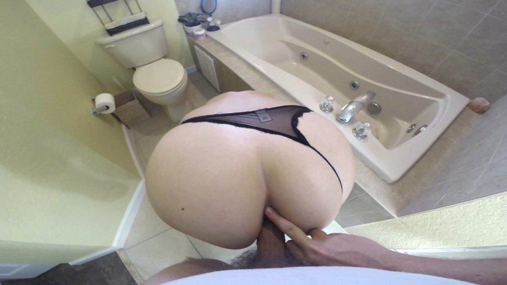 Bent Over Toilet Shit Fuck - HotScatWife 3