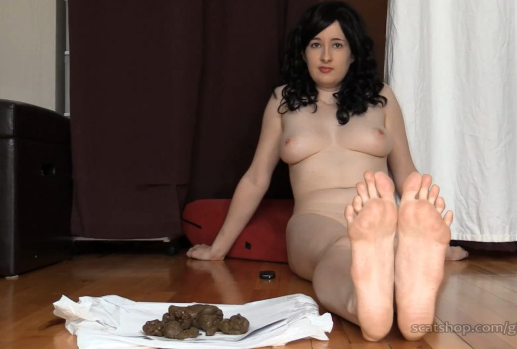DirtyMaryan - Pooping For Foot Fetish Scat Slave 4