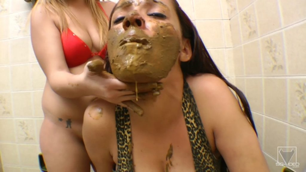 SG-Video Scat Toilette Fight By Anny Portilla - 3