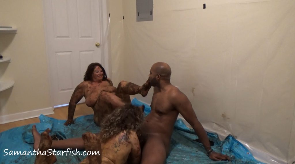 SamanthaStarfish - Shit Smeared Threesome! - 3