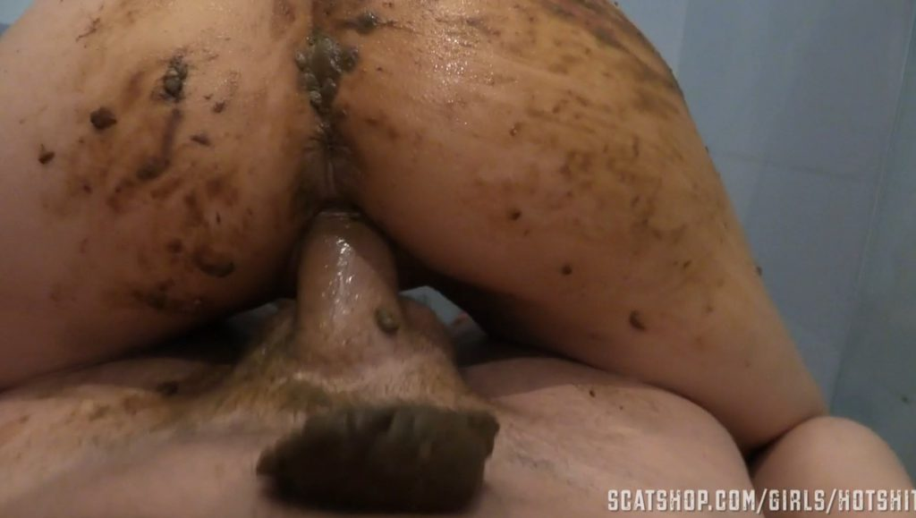 Shitting while fucking dirty pussy (HotShit) 6