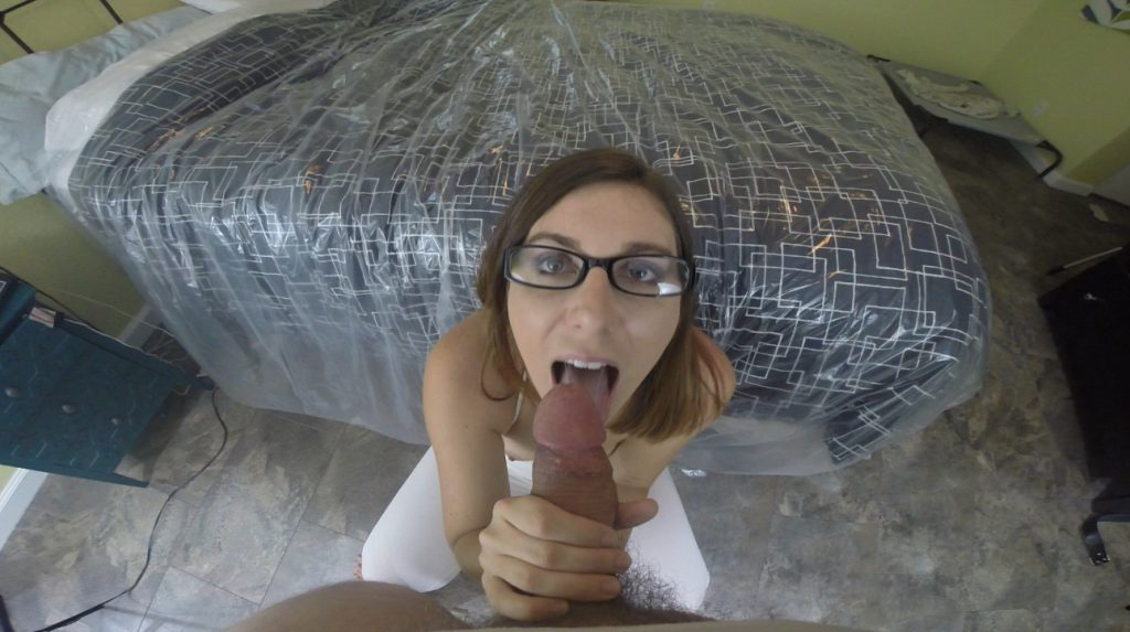 White Spandex Thong Anal Shit Fucking - HotScatWife - 3