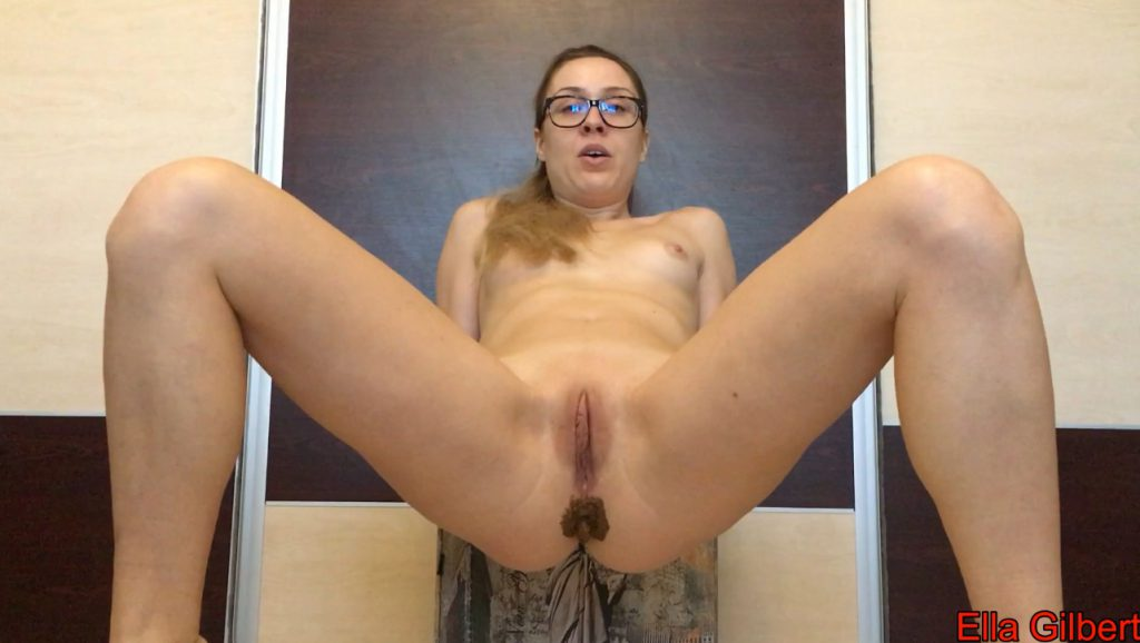 Huge Poop and Ass Fuck - EllaGilbert - Full HD 1080 (Scat Solo, Extreme Scat, Amateurs Scat) 2