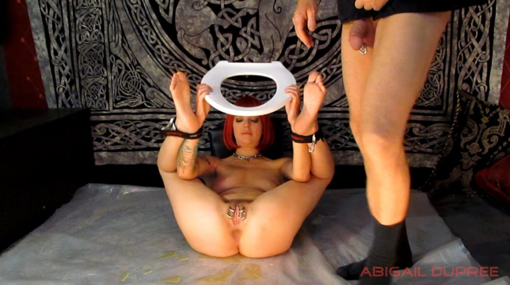 Masters Human Toilet Extended - Abigail Dupree 3