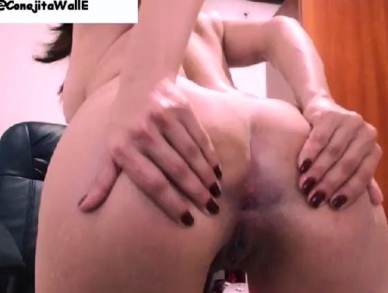 ConejitaWallE First Scat Video - 3