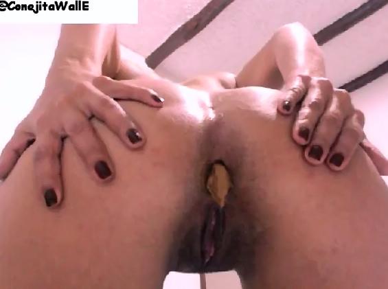 ConejitaWallE First Scat Video - 5