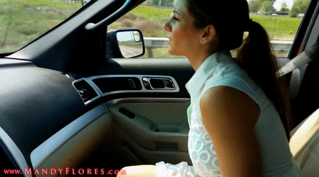MandyFlores - Outdoor Public Roadside Shit JOI With Slow Motion (takefile.link, pov, piss, shit) Screen 1