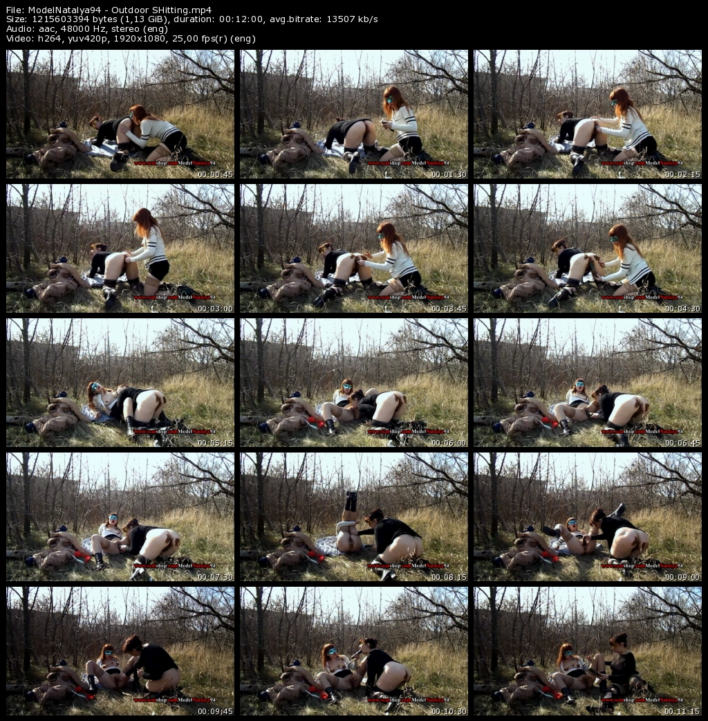 ModelNatalya94 - Outdoor SHitting