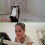 PooAlina – Alina Pukes In Mouth Of a Toilet Slave – HD 720p (Vomit)
