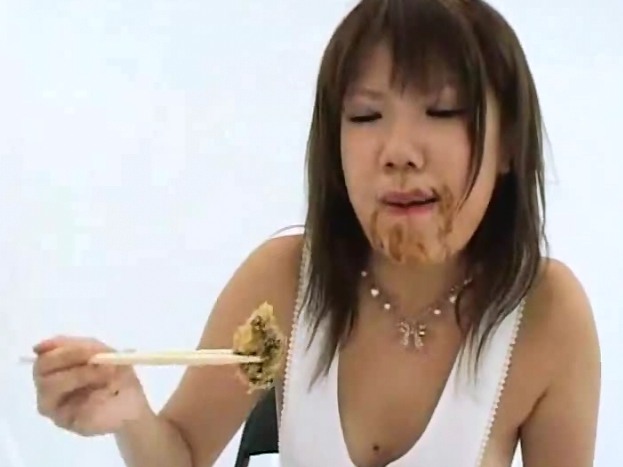 Two Asian Girls Cooking With Shit And Pee - 4