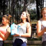 3 litre milk challenge by da teen girls (Vomitting Challenge)
