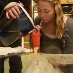 Lexi pukes from drinking water at mema's (FullHD-1080p)
