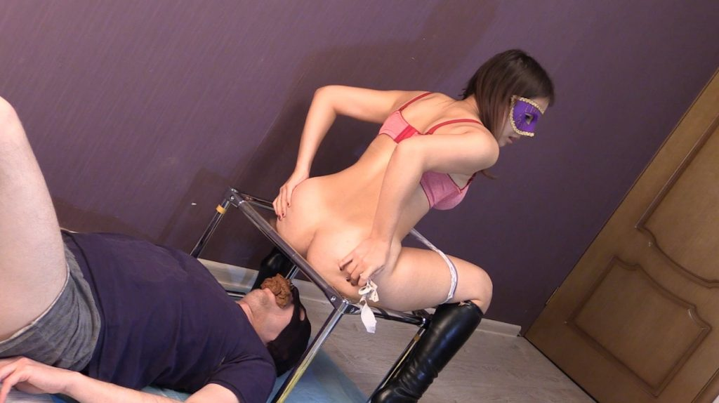 Princess Mia and toilet slave (Full HD) img 2