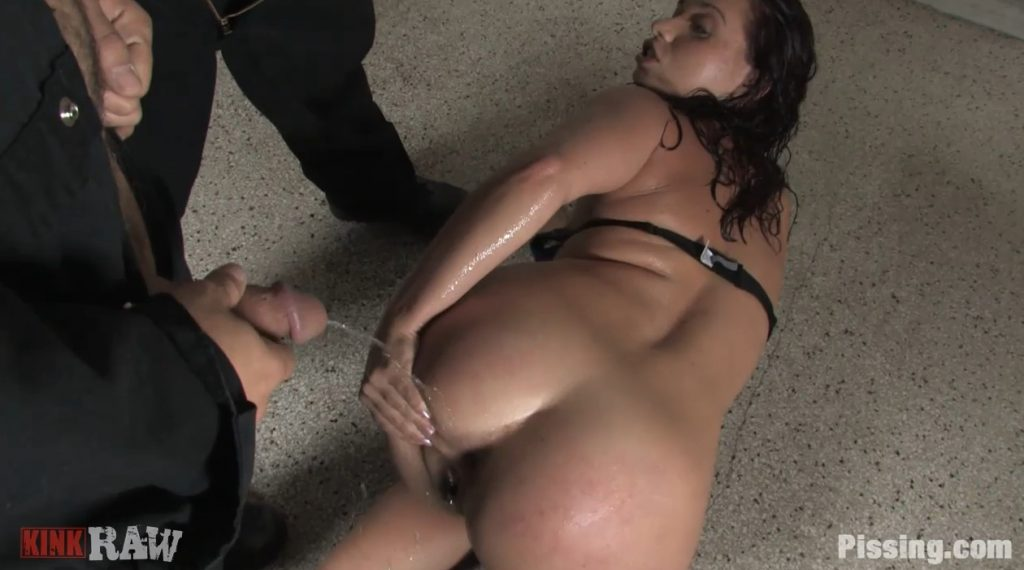 Golden Shower For Sexy Babe (HD-720p) [pissing.com] img 2