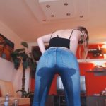 Josslyn Kane Pee in Jeans and Stand up Pooping (FULL HD 1080p)