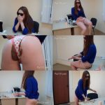 MilanaSmelly - Secretary Milana crapped in panties (FULL-HD)