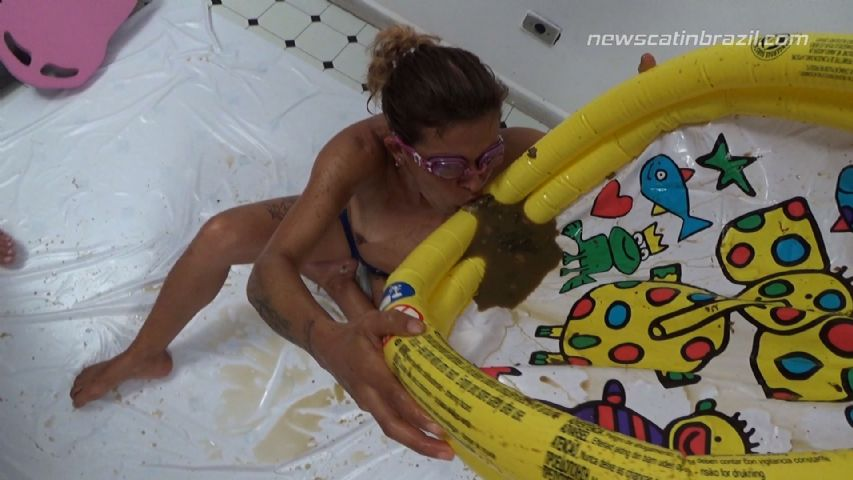A pool of shit - by Cindy Blueberry, Diana, Marie (Full HD 1080p) 2