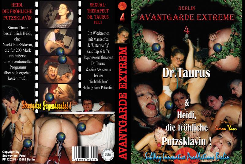 """Avantgarde Extreme 4 - Dr.Taurus & Heidi, die frohliche Putzsklavin (Heidi, Manuschka, """"Unterwürfig"""")"""