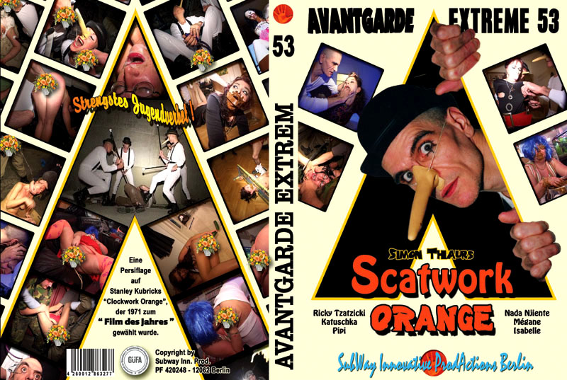 Avantgarde Extreme 53 - Scatwork Orange (Ricky Tzazicki, Nada Njiente, Mégane, Isabelle, Katuschka, Pipi)