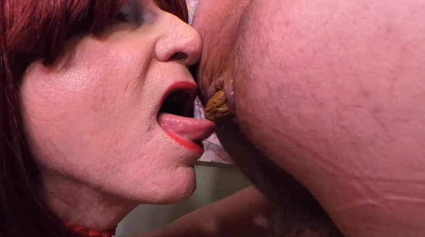 Crossdresser Eat Shit From Male Ass (HD 720p) Image 2
