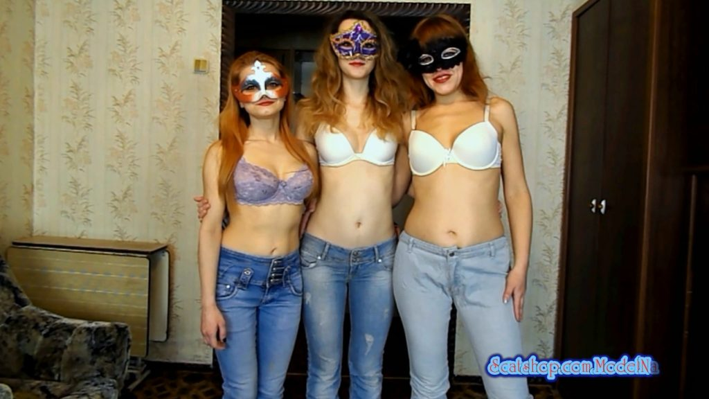 The new adventures of the three girls in jeans (ModelNatalya94) Image 1