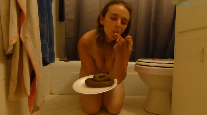 Fellow slave - Secretlover3 (Full HD Scat Solo Video) Image 3