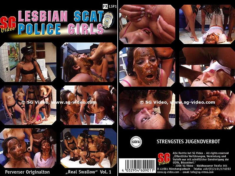 Lesbian Scat Police Girls 1 (Copro Full Movie) LSP 1