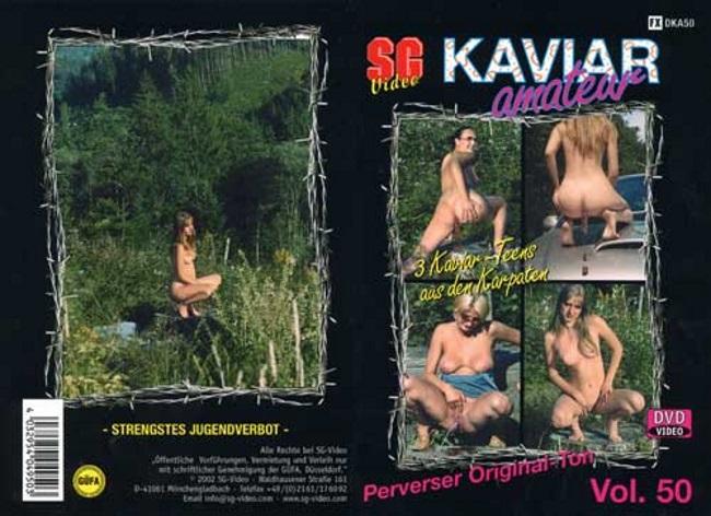 KAVIAR AMATEUR 50 – 3 Kaviar Teens aus den Karpaten (KA50)