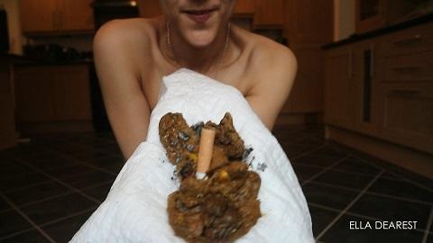Ella Dearest – Smoking & Shitting