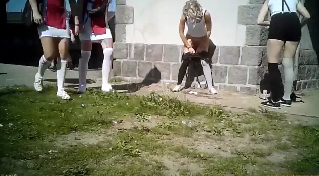 prostitutes pissing in public
